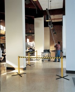 Stow Away Stanchions